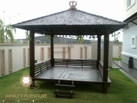 Gazebo Jati Jepara Model Terbaru, gazebo jati jepara, harga gazebo kayu jati, harga gazebo kayu glugu, jual gazebo kayu jati, model gazebo kayu jati terbaru, mebel jepara, furniture jepara, miniuty furniture
