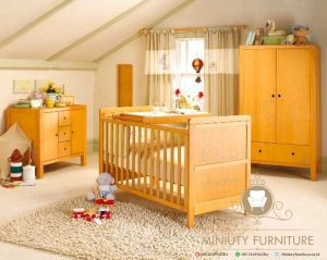 yellow baby room decorating