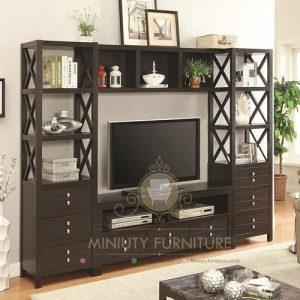 bufet tv standart minimalis terbaru