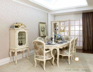 furniture meja makan modern model terbaru