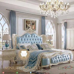 kamar tidur mewah duco putih terbaru