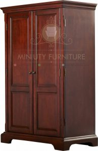 lemari minimalis kayu jati jepara
