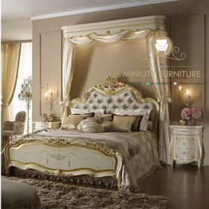 set kamar tidur mewah klasik
