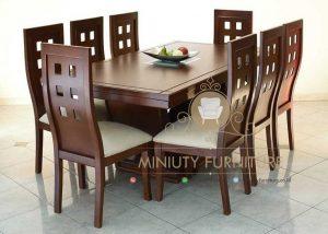 set meja makan unik minimalis