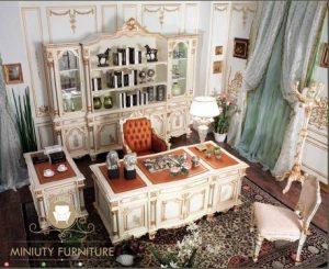 set ruang meja kantor duco mewah