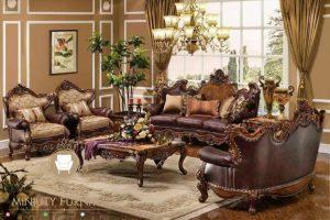 set ruang tamu ukiran jepara luxury style