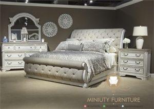 set tempat tidur elegan