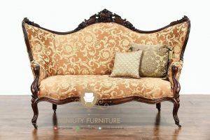 sofa klasik ukiran kayu jati