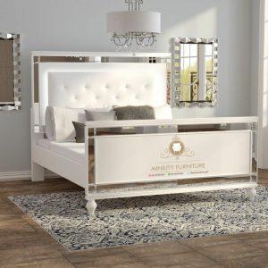 tempat tidur duco model terbaru kombinasi kaca