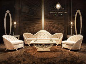 furniture sofa gaya klasik mewah terbaru