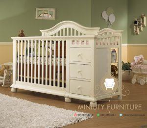 ranjang bayi cantik model minimalis modern