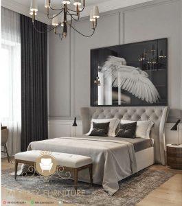 ranjang tempat tidur sofa minimalis modern