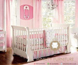 tempat tidur bayi minimalis modern terbaru