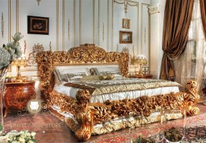 bed room high class luxury italian