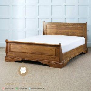 dipan minimalis kayu jati jepara