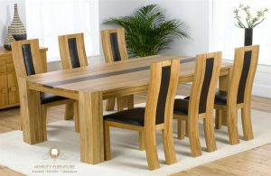 furniture set meja makan blok minimalis model terbaru