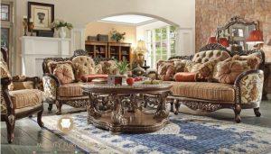 furniture set sofa ukiran mewah model terbaru romawi