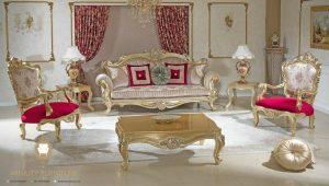 furniture sofa tamu ukir mewah model terbaru kayu jepara