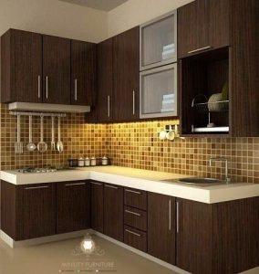 interior furniture kitchen set hpl minimalis murah modern