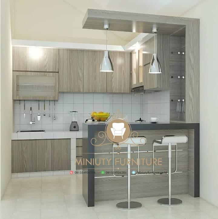 Kitchen Set Hpl Minimalis Model Terbaru Miniuty Furniture