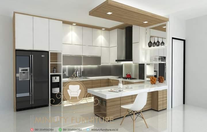 Kitchen Set Model Minimalis Multiplek Terbaru Miniuty Furniture