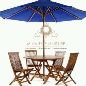 kursi taman, mejan payung taman