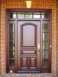 pintu rumah minimalis gaya eropa