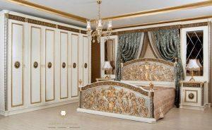 set bed room mewah ukiran jepara model terbaru