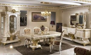 set dining room luxury turki style