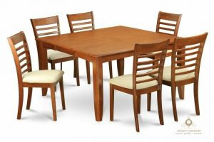 set dinning table minimalis