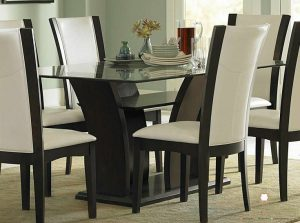 set dinning table minimalis model terbaru
