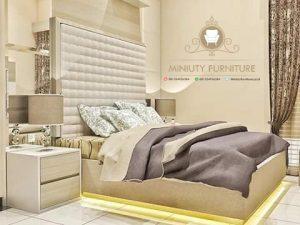 set kamar tidur hpl minimalis modern