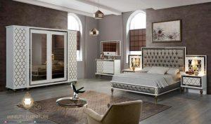 set ruang kamar tidur minimalis modern