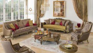 set sofa ruang tamu mewah modern gaya turki arabian