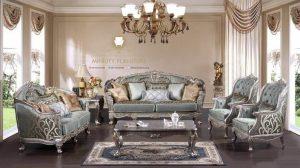 sofa tamu mewah elegan