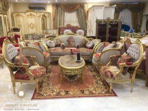 sofa tamu mewah klasik arabic style