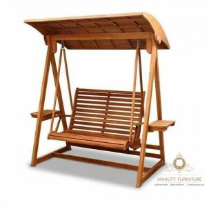 swing bench teak wood