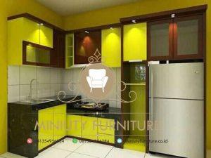 dapur minimalis hpl