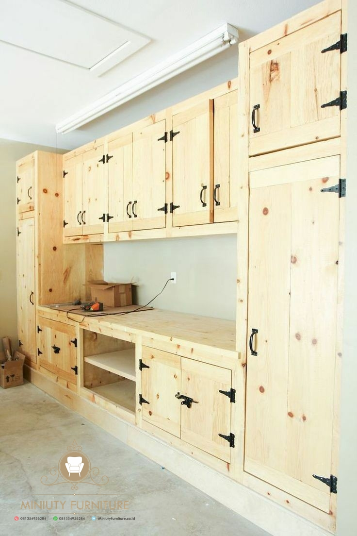 Kitchen Set Kayu Jati Belanda Model Terbaru Miniuty Furniture