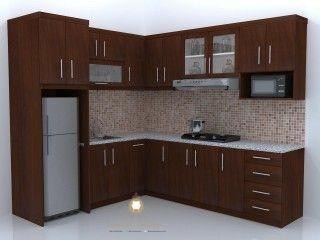 Kitchen Set Minimalis Kayu Jati Miniuty Furniture