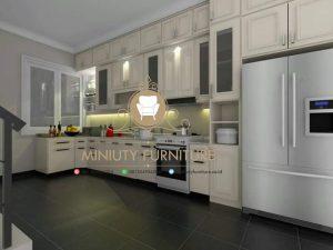 kitchen set minimalis klasik model terbaru