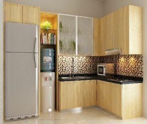 kitchen set minimalis model terbaru jepara