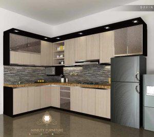 kitchen set minimalis modern jepara