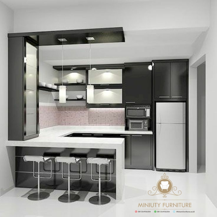 Kitchen Set Minimalis Modern Model Terbaru Miniuty Furniture