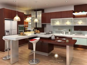 kitchen set minimalis multiplek hpl