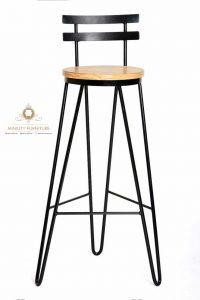 kursi minibar tinggi kaki besi terbaru