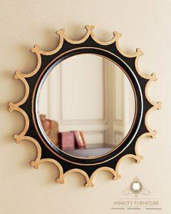 mebel furniture cermin hias dinding bulet