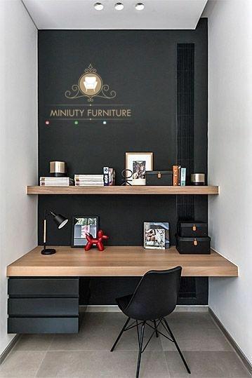 Meja Belajar Anak Gantung Minimalis Modern Miniuty Furniture