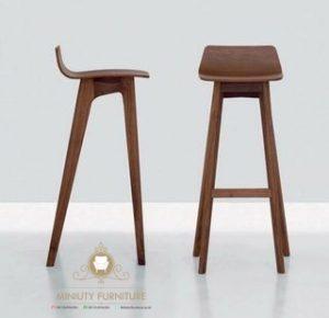 model kursi cafe tinggi kayu jati