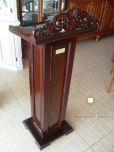 model podium mimbar minimalis modern